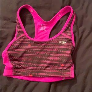 New Champion purple padded athletic sports bra!